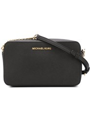 Michael Michael Kors Square Crossbody Bag Black