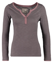 Fresh Made Long Sleeved Top Twilight Rose Brown