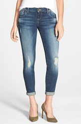 Women's Kut From The Kloth 'Adele' Distressed Slouchy Boyfriend Jeans Close