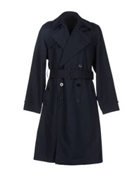 Christophe Lemaire Lemaire Coats And Jackets Full Length Jackets Men Dark Blue