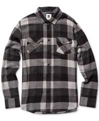 Element Men's Tacoma Plaid Shirt Black