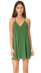 Alice Olivia Fierra Dress Kelly Green