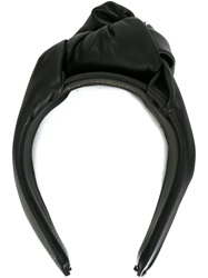 Super Duper Hats Knot Detail Hair Band Black