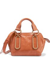 See By Chloe Paige Small Leather Shoulder Bag Tan
