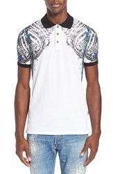Men's Just Cavalli Print Polo