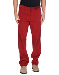 Paul And Shark Trousers Casual Trousers Men Brick Red