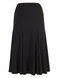 Chesca Jersey Skirt Black