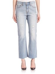 Levi's Distressed Kick Flare Jeans Mojave Blue