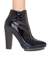 Pixie Market Jeffrey Campbell Dario Patent Ankle Boots