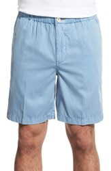 Men's Tommy Bahama 'Beachfront Lounger' Relaxed High Rise Shorts Cabo Blue