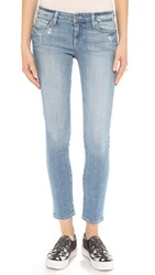 Paige Skyline Ankle Peg Jeans Whitley