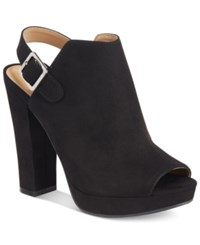 Report Libbie Slingback Booties Women's Shoes Black