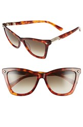 Women's Mcm 57Mm Retro Sunglasses Blonde Havana