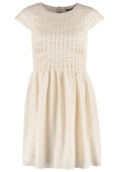 Marc O'polo Summer Dress Milky Stone Off White