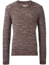 Maison Martin Margiela Knitted Long Sleeve Sweater Multicolour