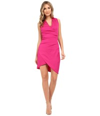 Nicole Miller Stefanie Dress Very Berry Women's Dress Pink