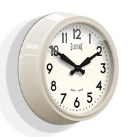 Newgate Clocks 50'S Electric Clock Sponge Cake Cream