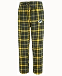 Concepts Sport Men's Green Bay Packers Ultimate Flannel Sleep Pants