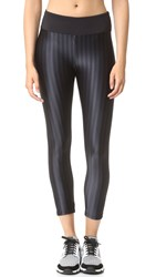 Koral Liquid Capri Leggings Black