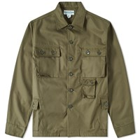 Sassafras G.D.U. Shirt Jacket Green
