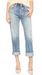 Citizens Of Humanity Cora High Rise Relaxed Crop Jeans Lotta Love