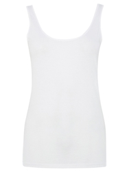 Warehouse Scoop Neck Vest White