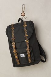 Anthropologie Herschel Supply Co. Little America Backpack Black