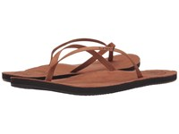 Reef Leather Uptown Cocoa Women's Sandals Brown