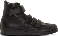 Black Adidas Originals By Juun.J High Top Sneakers