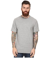 Hurley Staple Crew Dark Heather Grey Men's Short Sleeve Pullover Gray