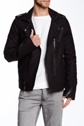 Hudson Jeans The Biker Jacket Black