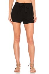 Splendid Rayon Voile Short Black