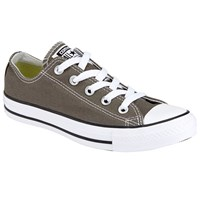 Converse Chuck Taylor All Star Canvas Ox Low Top Trainers Charcoal