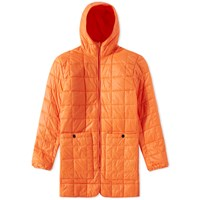 Stutterheim Stureby Hooded Liner Orange