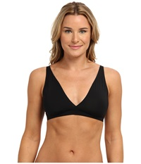 Yummie Tummie Ava Low Back Plunge Bra Black Women's Bra