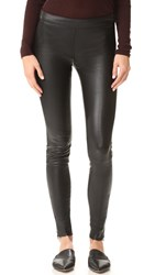 Mackage Leather Leggings Black