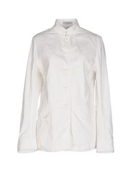 Strenesse Blue Suits And Jackets Blazers Women White