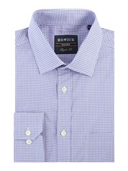 Howick Beacon Gingham Shirt Lilac