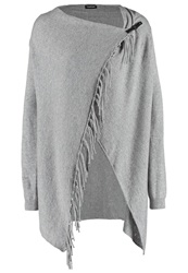 Taifun Cardigan Cloud Mottled Grey