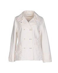 Armani Jeans Suits And Jackets Blazers Women White