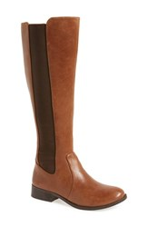 Jessica Simpson Women's 'Ricel' Riding Boot Bourbon Leather