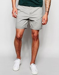 Only And Sons Chino Shorts Gray