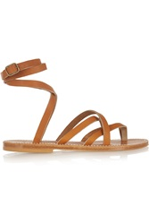 K Jacques St Tropez Zenobie Leather Sandals