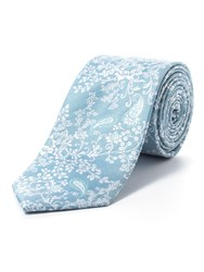 Paul Costelloe Green Floral Paisley Tie