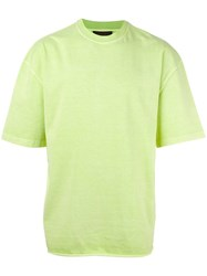Yeezy Loose Fit T Shirt Green