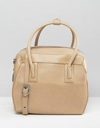 Matt And Nat Structured Tote Bag Cardamom Beige