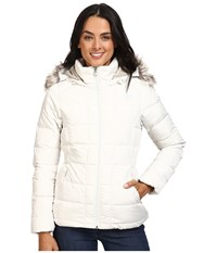 The North Face Gotham Down Jacket Vaporous Grey Dove Grey Women's Coat White