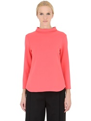 Space Style Concept Viscose Crepe Top