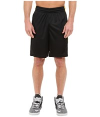 Nike Elite Stripe Short Black Varsity Maize White Metallic Silver Men's Shorts
