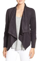 Cupcakes And Cashmere Women's 'Mackenzie' Faux Suede Drape Front Jacket